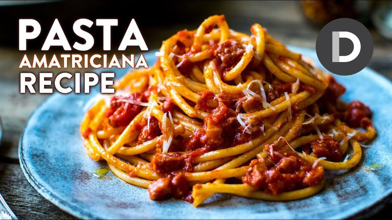 How to make.. Pasta Amatriciana!