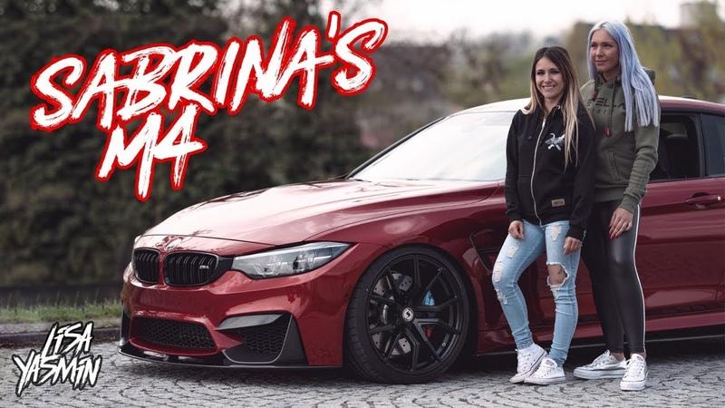 BMW M4   Truckerbabe Sabrina's M4 Competition   CarGirls Teil 2   Lisa Yasmin