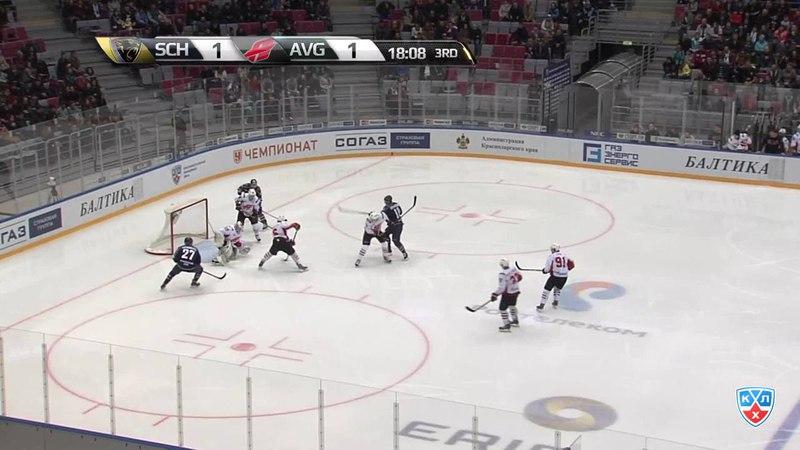 Моменты из матчей КХЛ сезона 14/15 • Удаление. Вярн Макс (ХК Сочи) за подножку 05.02