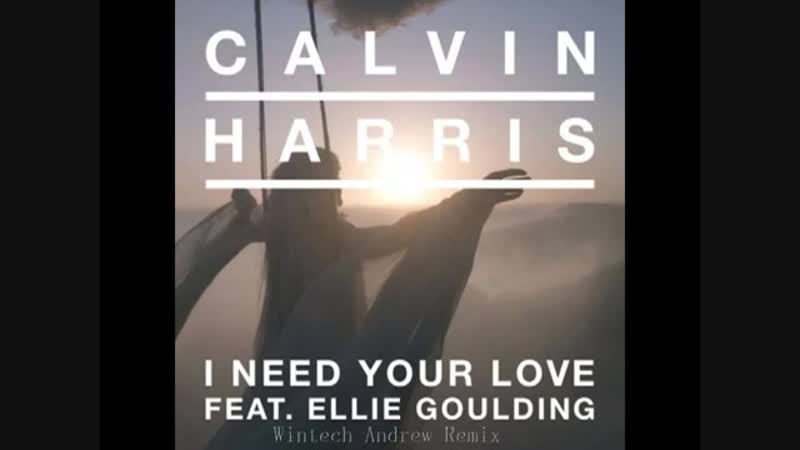 Calvin Harris feat. Ellie Goulding - I Need Your Love ( Wintech Andrew 2014 Hand