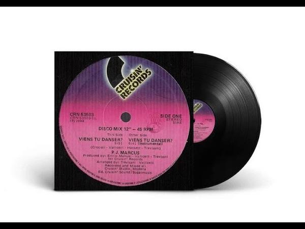 P.J. Marcus - Viens Tu Danser (12'' Version) 1988