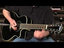 Washburn WCG187CE Comfort Select 7 string Acoustic electric Guitar Demo by Sweetwater Sound
