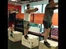 Crossfit занятие у тренера-эксперта Игоря Веснина. Отработка приседаний на одной ноге