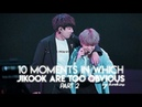 Top 10 moments in which jikook are too obvious ↠ ❝jikook/kookmin❞ PART 2
