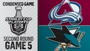 05/04/19 Second Round, Gm5: Avalanche @ Sharks