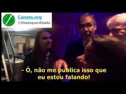 O vídeo que Fabio Pannunzio, jornalista da Band, não quer que você veja
