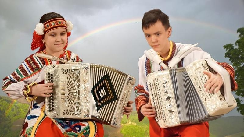 Саратовские переборы ☀️ Супер талантливые дети - гармонисты России╰❥The best harmonists of Russia!