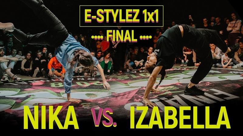Nika vs. Izabella   E-Stylez 1x1 Final @ MoveProve International 2018