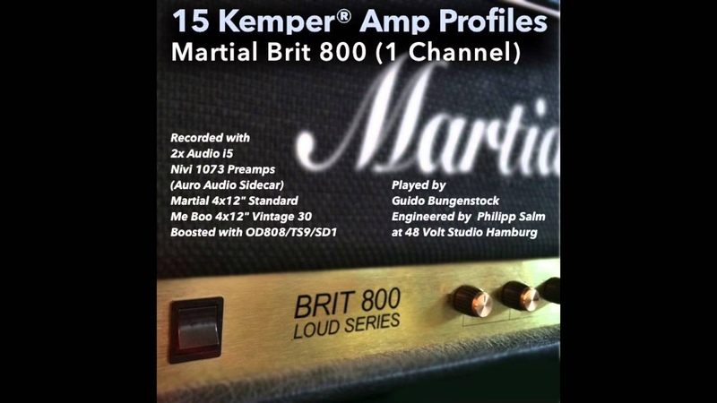 The Best Kemper Amp Profiles demonstrated by Guido Bungenstock