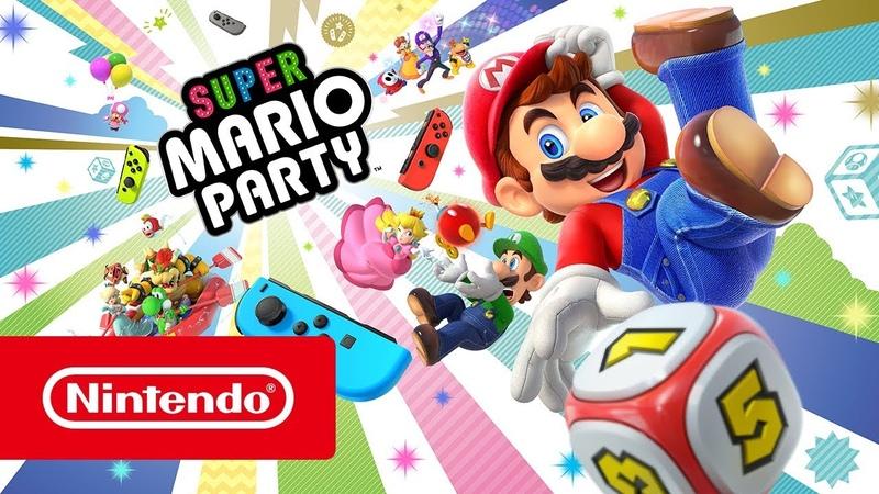 Super Mario Party — релизный трейлер (Nintendo Switch)