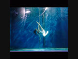 Танец на пилоне под водой , Poledance underwater