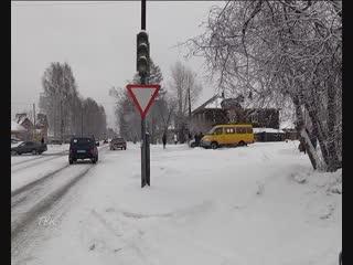 Тройная авария на ул. Победы на некоторое время заблокировала проезд транспорту