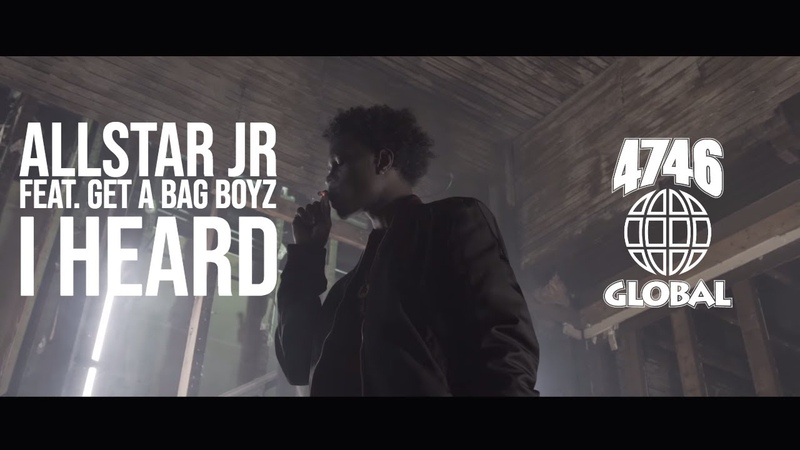 Allstar JR - I Heard ft. Get A Bag Boyz (Official Video)