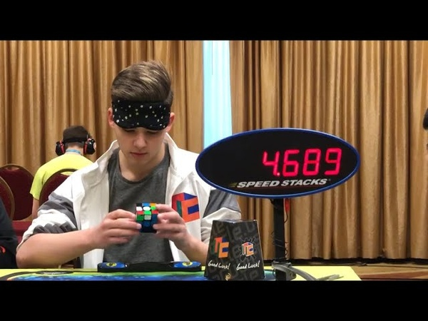 Rubik's Cube Blindfolded World Record Mean 20 12 Seconds