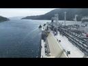 Швартовка танкера Федор Литке в Испании