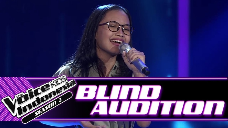 Zilah - Untuk Perempuan Yang ...   Blind Auditions   The Voice Kids Indonesia Season 3 GTV 2018