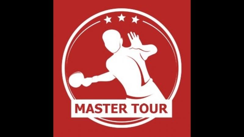 LIVE. 13-й турнир по настольному теннису серии Мастер-Тур среди мужчин в в формате 7x7 ТТ