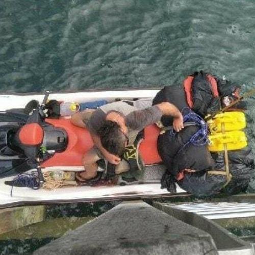 57-летнего британца задержали за наркобизнес. Пытаясь сбежать, он проплыл на гидроцикле 150 км из Австралии