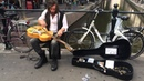 Jack Broadbent amazing busker in the Amsterdam Red Light district 1/2