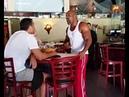 КЛИЧКО ОСТУДИЛ АМЕРЕКАНСКОГО БОКСЕРА СТАКАНОМ ВОДЫ -Klitschko Briggs wild restaurant showdown