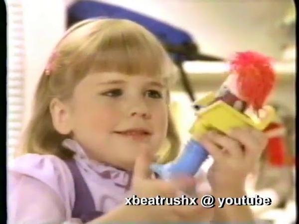 Старая реклама Плей До. 80s Commercials Playdoh Mop Top Hair Shop