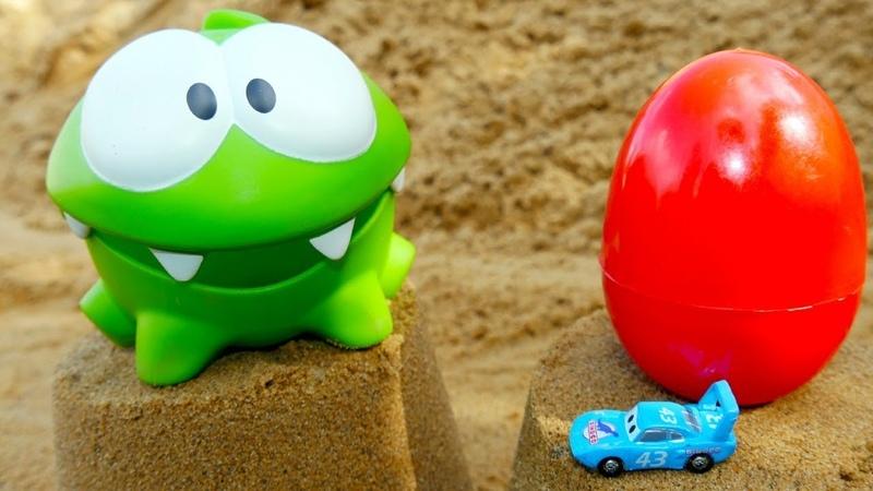Tutti al mare OmNom gioca sulla spiaggia Nuovi episodi