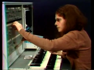 Laurie Spiegel playing Bell Labs Hal Alles Synth (1977)