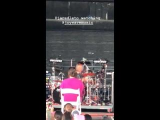 29.06.2018 • Джаред смотрит выступление Joywave | Майами, США