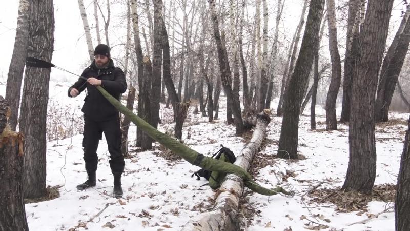 [ДНЕВНИКИ БРОДЯГИ Канал о Туризме/Сплавы/Походы] [ЖИЗНЬ] Убийца палаток -- гамак от магазина rebel-gears.ru