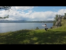 Лариса Зайцевская на озере Тургояк