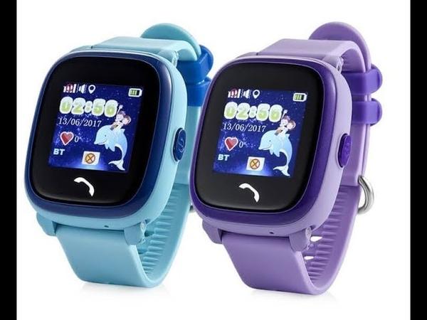 Обзор Smart baby watch DF25 (gw400s(w9) gps водонепроницаемые часы детские