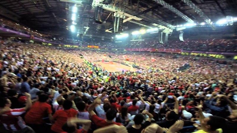 DELIJE RED STAR FANS VS euroleague anthem HQ GOPRO VIDEO