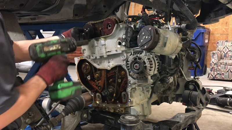 Step By Step 2.4 EcoTec Timing Chain Replacement
