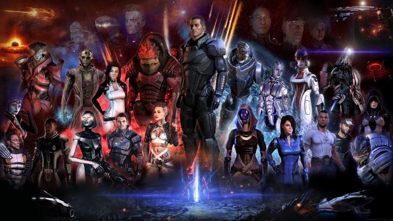 Mass Effect 2. Прохождение.