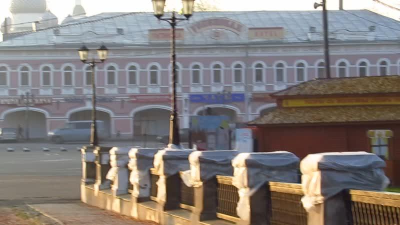 Углич-Площадь-Обзор с моста -без зума