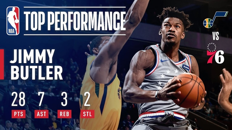 Jimmy Butler SHOWS OUT In 76ers Home Debut | November 16, 2018 NBANews NBA 76ers JimmyButler