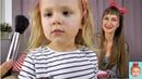 Волшебное зеркало, детская косметика, Милана делает макияж. Makeup.