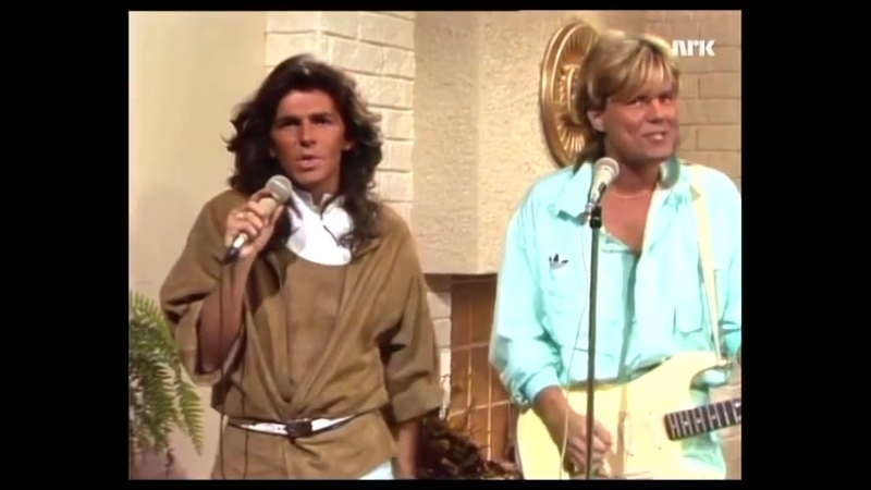 Modern Talking - Cheri Cheri Lady (FrokosTV - NRK 26_oct_1985)