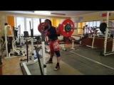 Алексей Никулин - присед 280 кг на 3