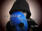 【MHD】Creepypasta cosplay ─ Eyeless Jack make up