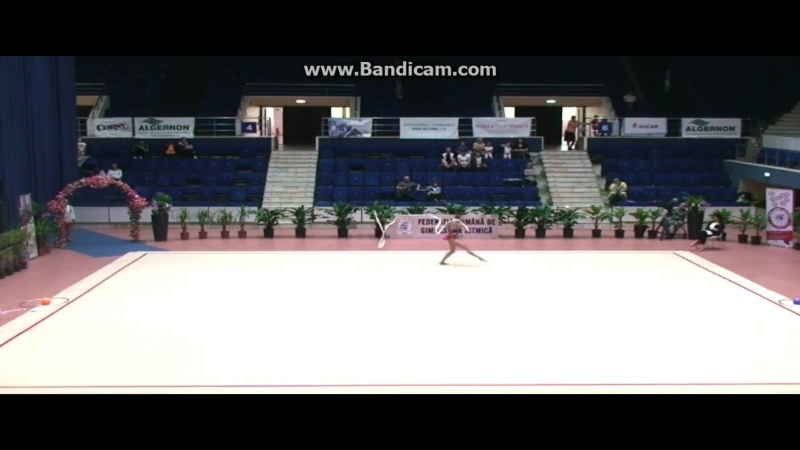Полина Хонина - лента (финал) Irina Deleanu Cup 2018, Бухарест