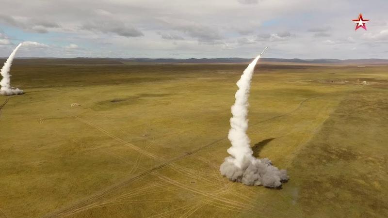 Пуски крылатых ракет «Искандер-М» на учениях «Восток-2018»