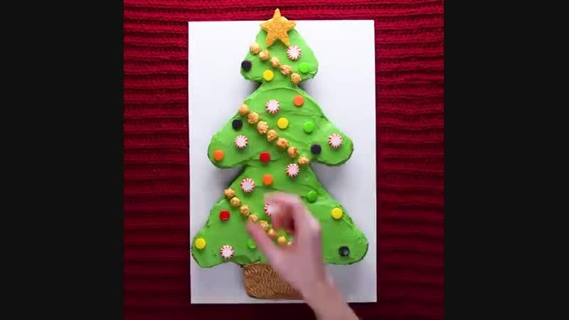ТОП-7 идей украшения капкейков на Новогоднюю тематику! Наша группа в ВКонтакте ТОРТ-РЕЦЕПТ-VК.