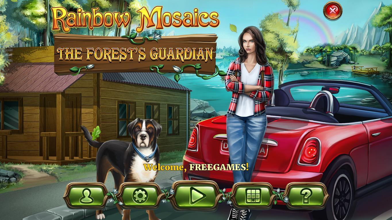 Радужная мозаика 6: Хранитель леса | Rainbow Mosaics 6: The Forest's Guardian (En)