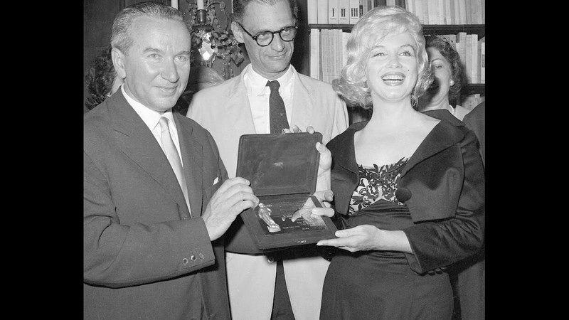Marilyn Monroe Archival Footage - David di Donatello Award Press Conference 1959