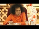 Sai Love 23 - Swami partaking food with students at the Summer Course in 2002