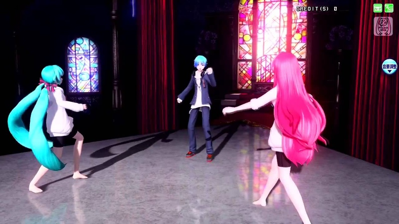 Project DIVA Arcade Future Tone ACUTE Hatsune Miku Kaito Megurine Luka