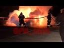 В районе Анапы загорелась машина