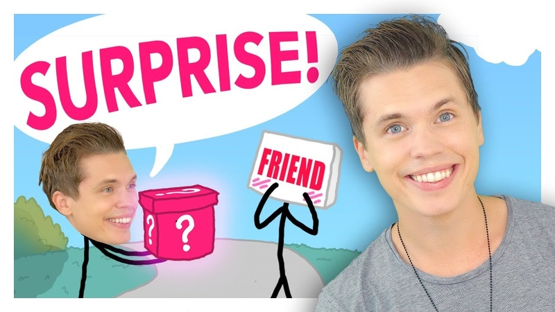 Surprising my singer high school friend who gave up on his talent (Animated Story IRL Surprise)