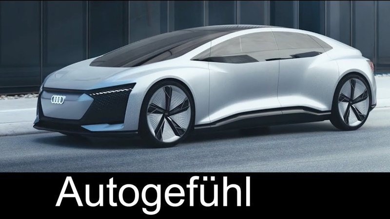 Audi Aicon ExteriorInterior Preview - IAA 2017 - Autogefühl
